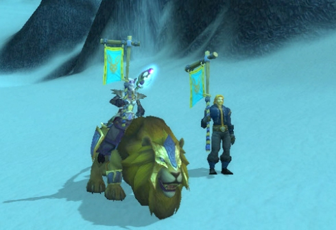 Golden King Mount